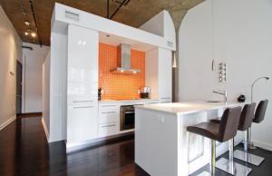 2 pièces de 65m² à Montréal cuisine