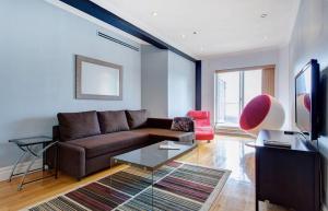 Appartement 112m² à Montréal salon