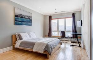 Appartement 112m² à Montréal chambre