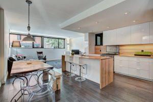 Appartement 116 m² à Montréal cuisine