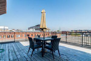 Loft de 75 m² à Montréal terrasse