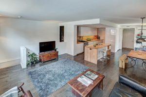 Appartement 116 m² à Montréal salon