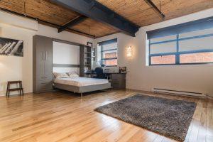 Loft de 75 m² à Montréal chambre