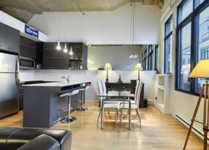 Loft de 24m² à Montréal cuisine