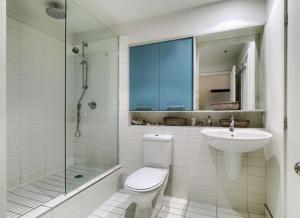 Loft de 24m² à Montréal salle d'eau