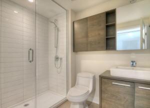 Appartement 16m² à Montréal salle d'eau