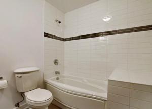 Appartement 46m² à Montréal salle de bain
