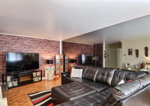 Immeuble 215 m² à Montréal salon