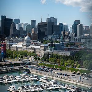 Montréal vue aérienne